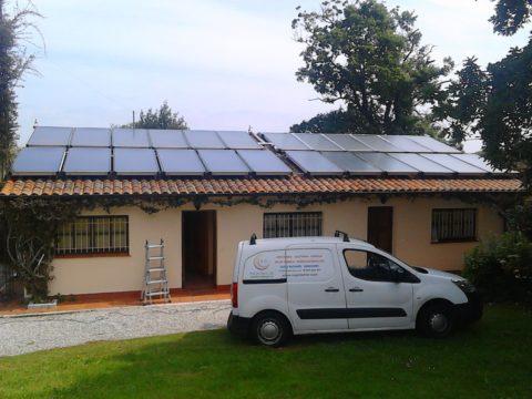 Solar térmica en Cantabria - Ingeosolar