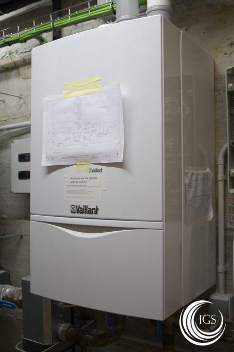 Caldera de condensación Vaillant - Ingeosolar
