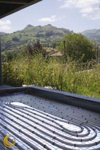 Suelo Radiante en vivienda unifamiliar en Cantabria - Ingeosolar