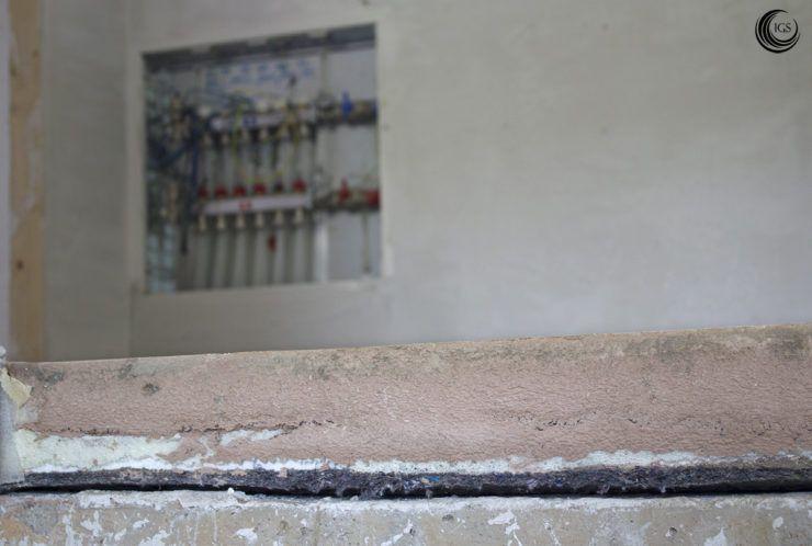 Suelo radiante con mortero de anhidrita - Ingeosolar