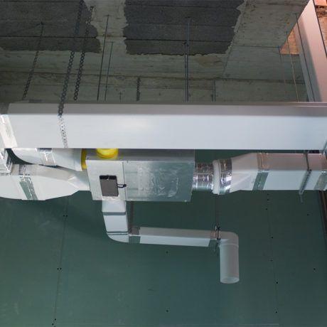 Sistema ventilación higrorregulable - Ingeosolar