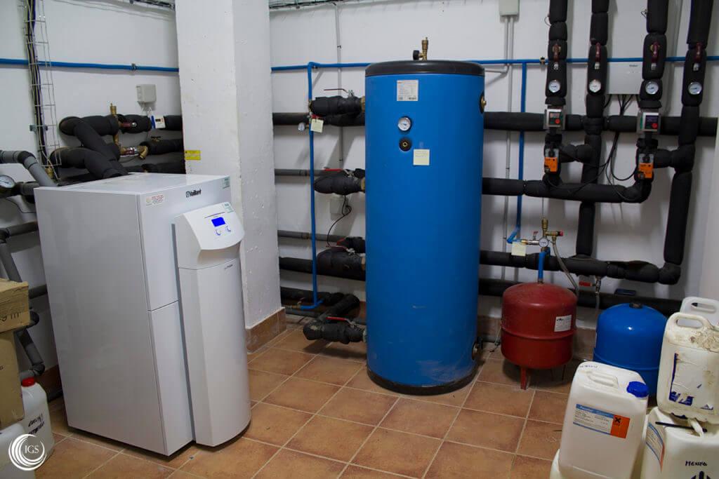 Refrigeraci n pasiva en instalaci n de geotermia para agua - Bomba de frio para suelo radiante ...