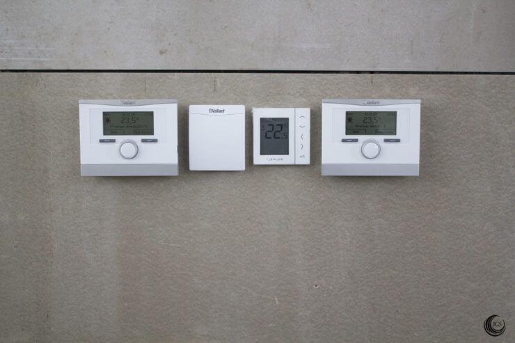 Sensor CO2 en centralita de control de recuperación de calor - Ingeosolar