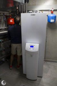 Bomba de calor Vaillant para Geotermia en Tanos - Ingeosolar