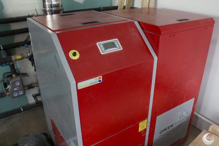 Caldera de biomasa Greenheiss - Ingeosolar