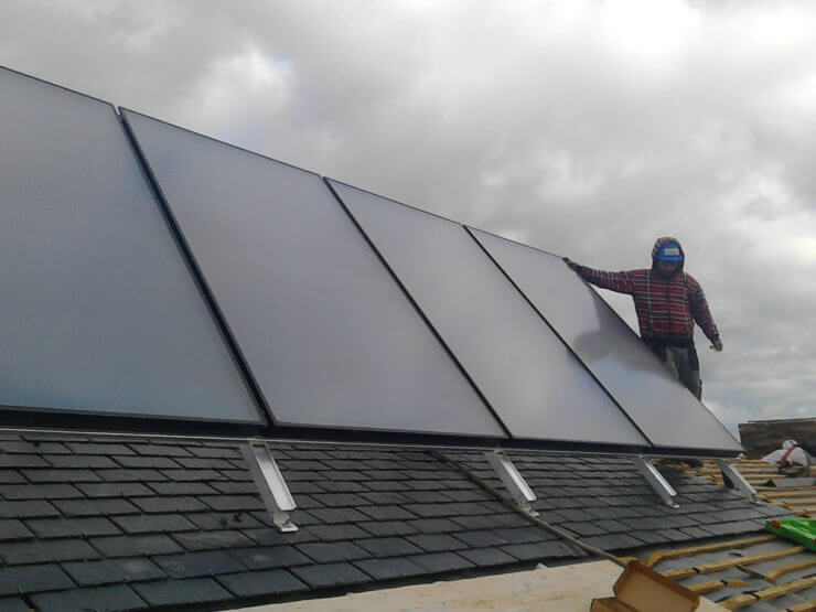 Captadores para energía solar térmica - Ingeosolar