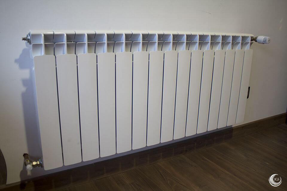Biomasa termoestufa de pellets edilkamin con radiadores for Caldera de pellets para radiadores