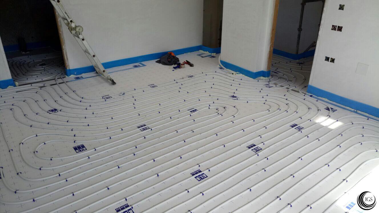 Suelo radiante otra vivienda con instalaci n de suelo for Suelo radiante agua