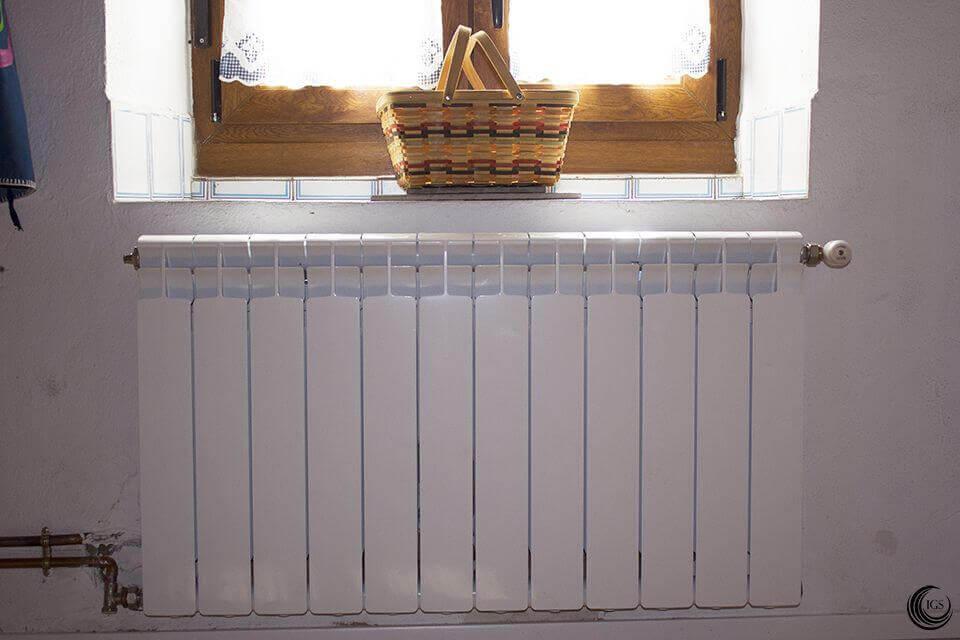 calefacci n termochimenea de le a con radiadores calor On calefaccion lena radiadores