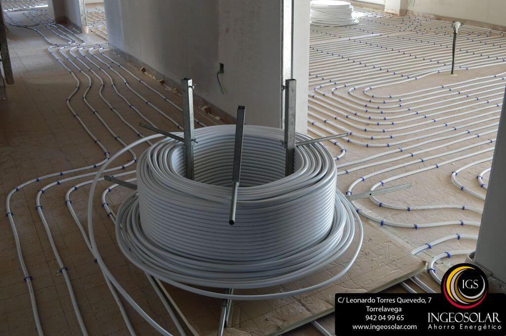tubo suelo radiante