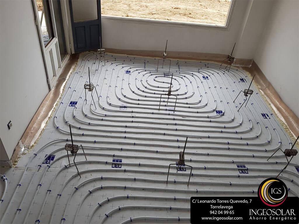 Instalaciones suelo radiante en Cantabria - Suesa