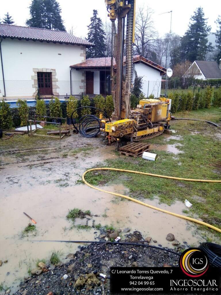 Perforacion Vertical Geotermia Cantabria - Ingeosolar
