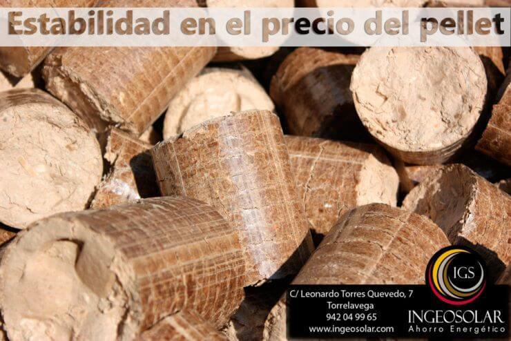 Estabilidad precio pellets aumenta demanda biomasa