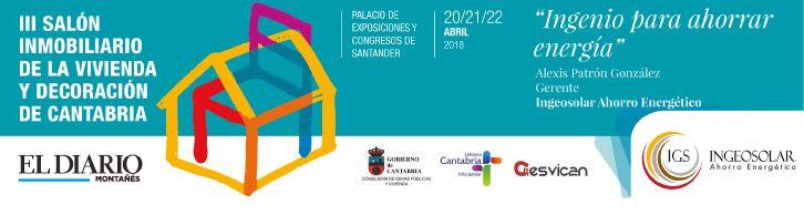 Salón Inmobiliario de Cantabria Ingenio para Ahorrar