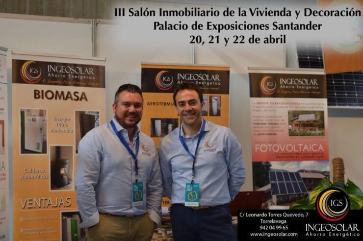 Salon Inmobiliario Cantabria - Ingeosolar