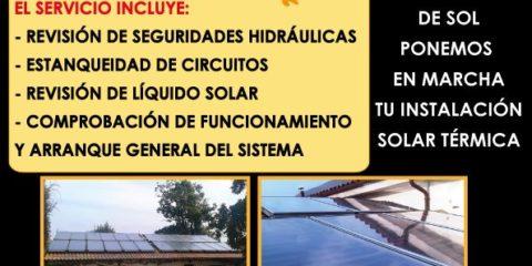 Puesta en Marcha Instalaciones Solares Termicas