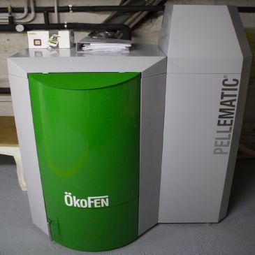 Biomasa Caldera - Ingeosolar