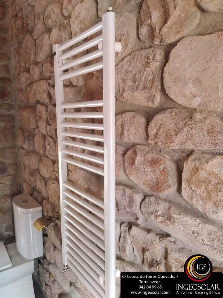 Radiador toallero para baño - Ingeosolar