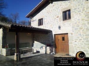 Casa rural Pedroso de Villacarriedo - Ingeosolar