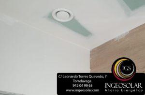Boca extracción impulsión de aire para ventilación - Ingeosolar