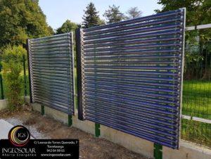 Paneles solares para energía solar térmica - Ingeosolar
