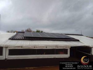El Puntal en Pedreña con paneles solares fotovoltaicos instalados por Ingeosolar
