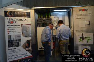 Ingenieros de Ingeosolar en el Salón Inmobiliario de la Vivienda y Decoración 2019 en Cantabria
