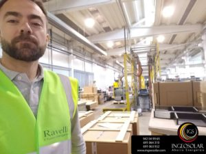 Ingeosolar visita la fabrica Ravelli en Italia