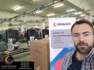 Visita fabrica Ungaro en Italia por Ingeosolar