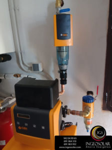 descalcificador para agua dura con hierro Ingeosolar