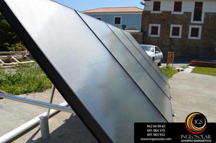paneles solares térmicos instalados por ingeosolar