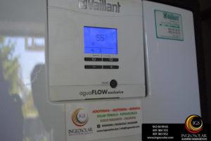 producción de agua caliente sanitaria con energía solar térmica por ingeosolar