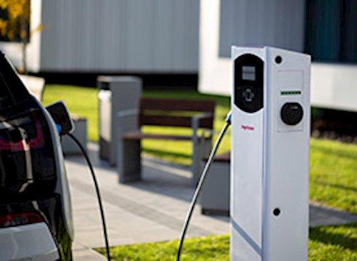 Punto de recarga para coche electrico con ingeosolar
