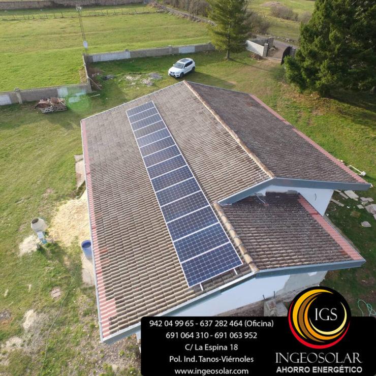 geotermia y solar fotovoltaica ingeosolar