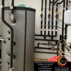 deposito acumulacion agua caliente ingeosolar