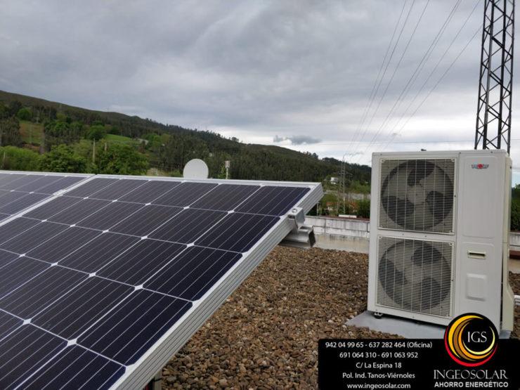 energia solar y aerotermia ingeosolar
