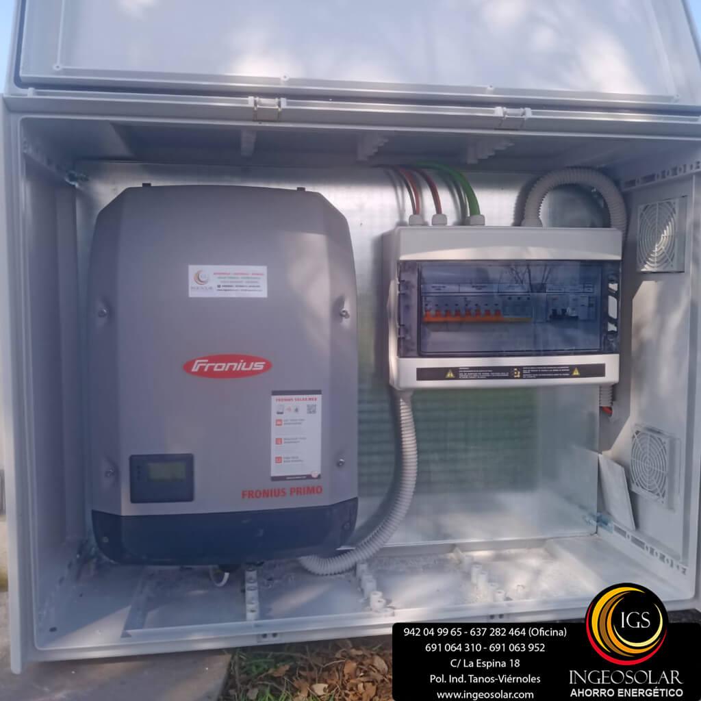 equipo solar otovoltaico ingeosolar