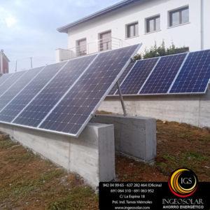 instalacion solar fotovoltaica cantabria ingeosolar