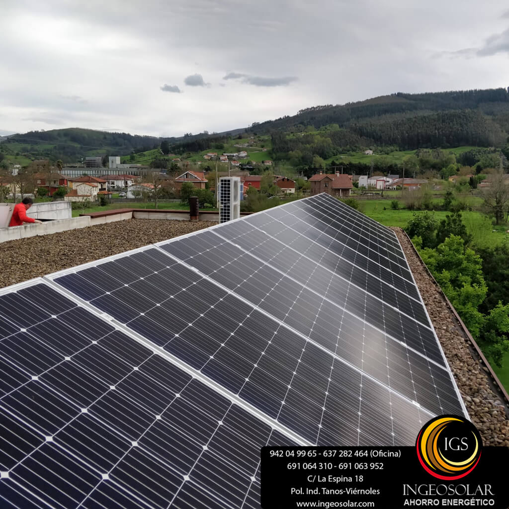 paneles solares y aerotermia ingeosolar