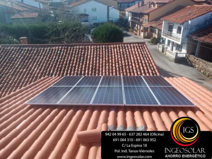 instalacion fotovoltaica autoconsumo ucieda ingeosolar