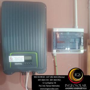 sala tecnica solar fotovoltaica ucieda ingeosolar