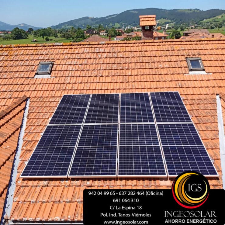 modulos solares autoconsumo ingeosolar