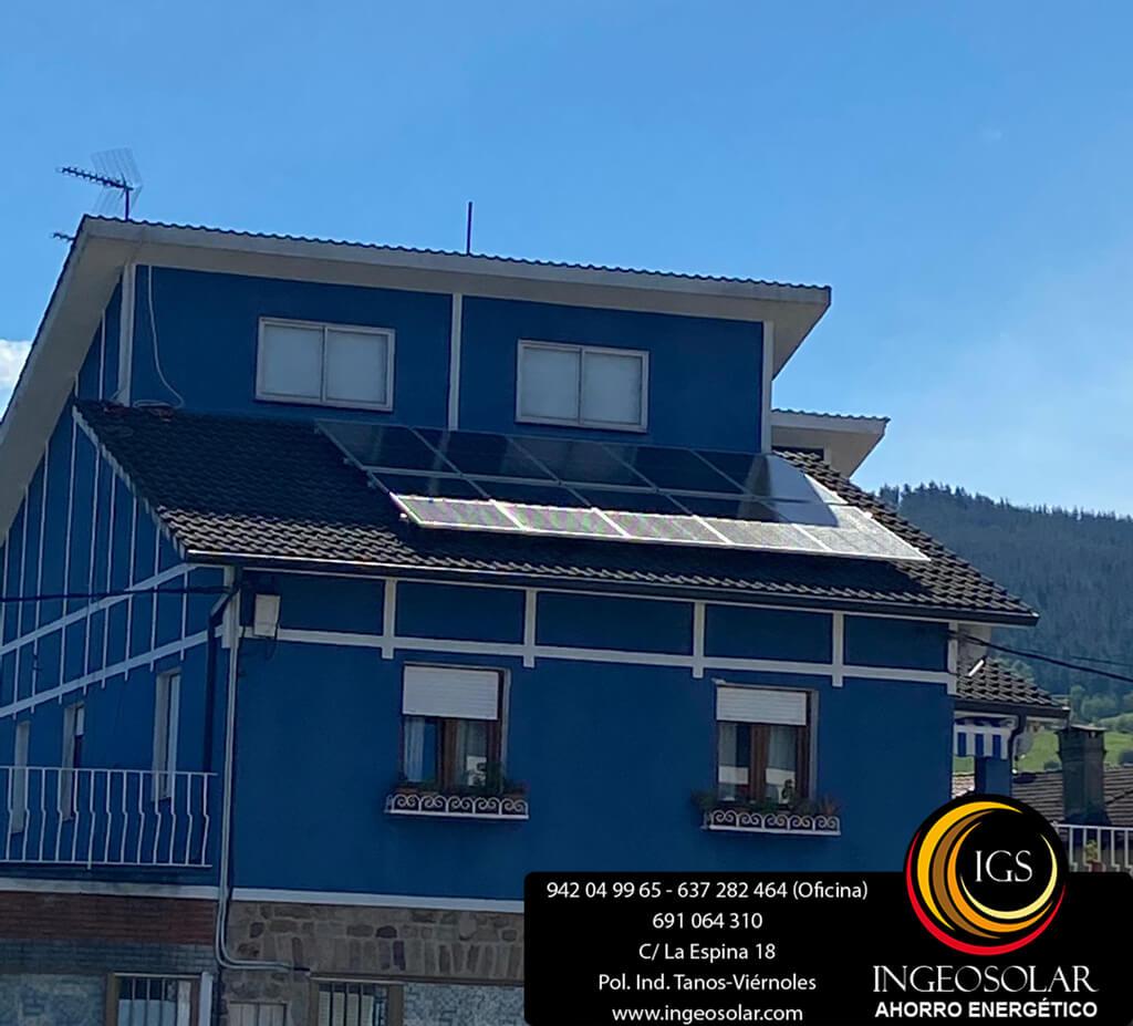 instalacion fotovoltaica de autoconsumo en cantabria de ingeosolar